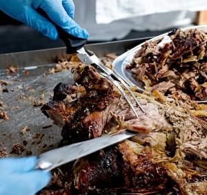 Surrey lamb roast